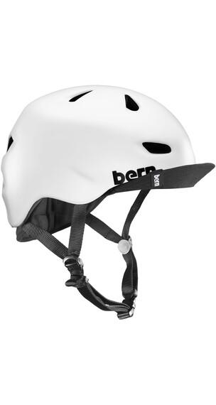 Bern Brentwood Helmet Flip Visor Satin White